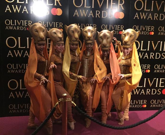 Lion King at Olivier Award 2019