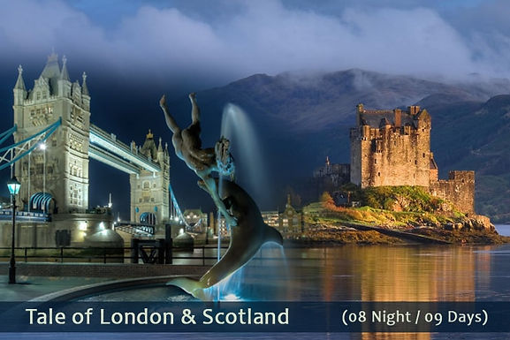 LONDON TO SCOTLAND