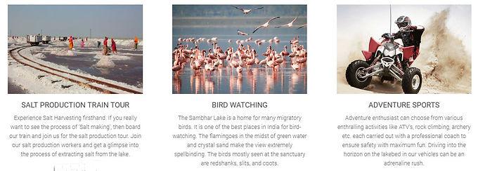"India Dekho:""The Sambhar Heritage Resort"""