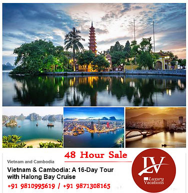 48 Hour Sale :Vietnam and Cambodia