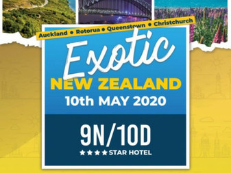 Exotic  New zealand [9N/10D]