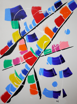 """Flags (30"""" x 40"""")"""