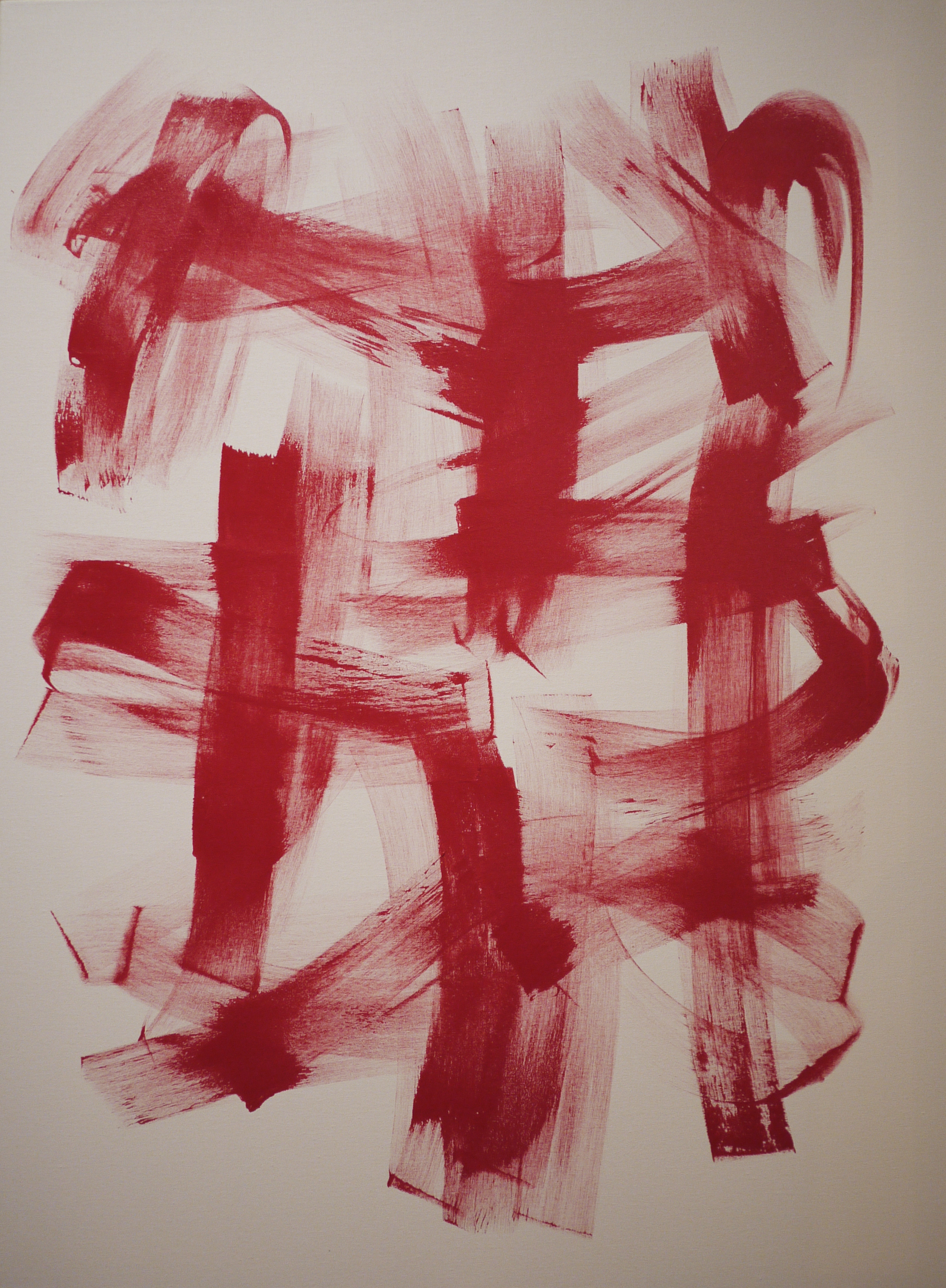 "Red Motion (36"" x 48"")"