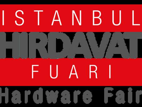 14 - 17 Mart İSTANBUL HIRDAVAT FUARINDAYIZ