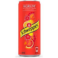 SCHWEPPS AGRUMES 33cl