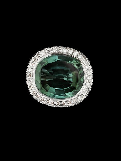 Tourmaline 15 k  Ring
