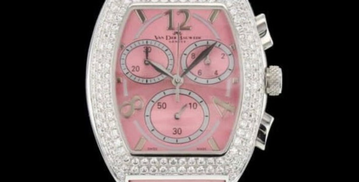Van der Bauwede Diamonds Chronograph New