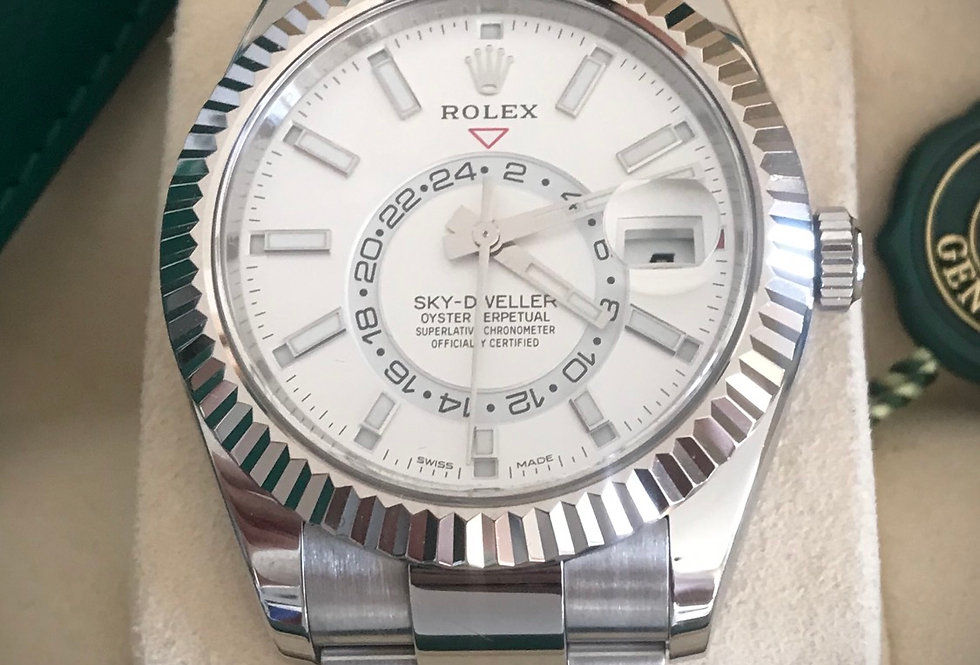 Rolex Sky-Dweller Reference 326934 White Dial