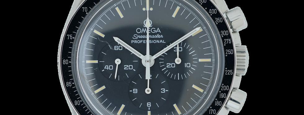 """Omega Speedmaster Professional Vintage  Ref.3872.50.01 """"Rhodium"""" Saphire Back"""