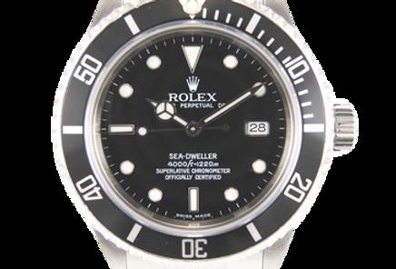 Rolex Sea-Dweller 16600 D Series