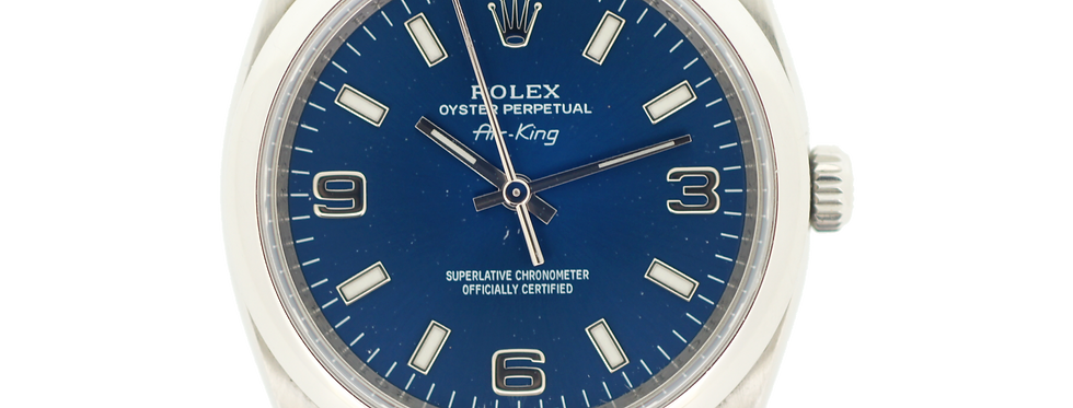 Rolex Air-King 114200 Full Set