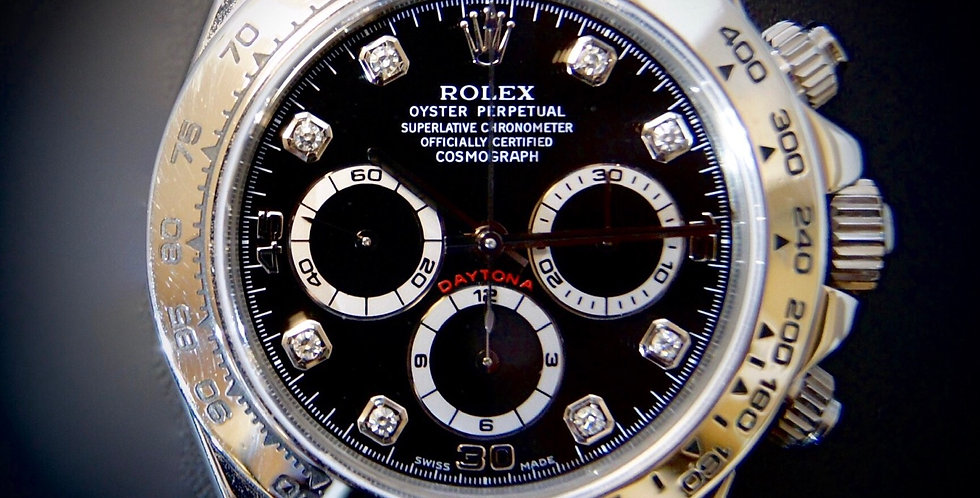 Rolex Daytona 18K White Gold Ref.116519
