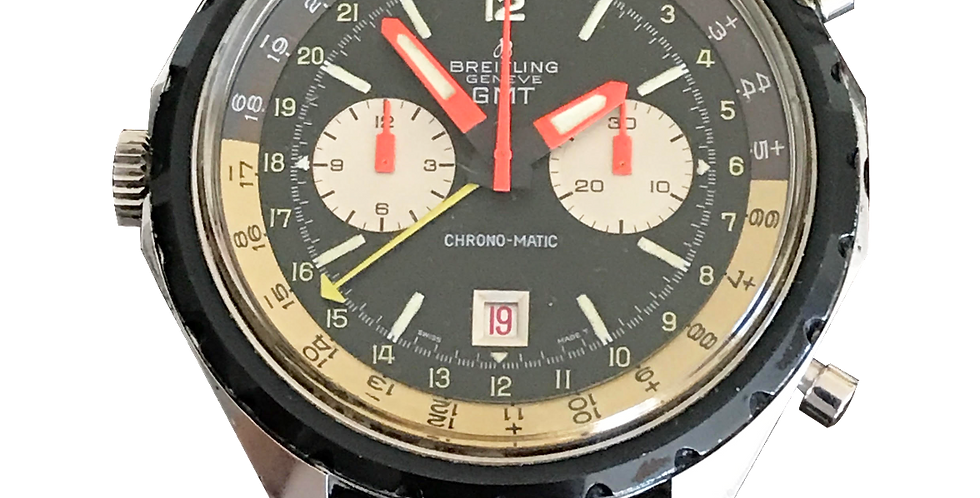 Breitling Chrono-matic GMT Special Edition for Iraqui Air-Force.