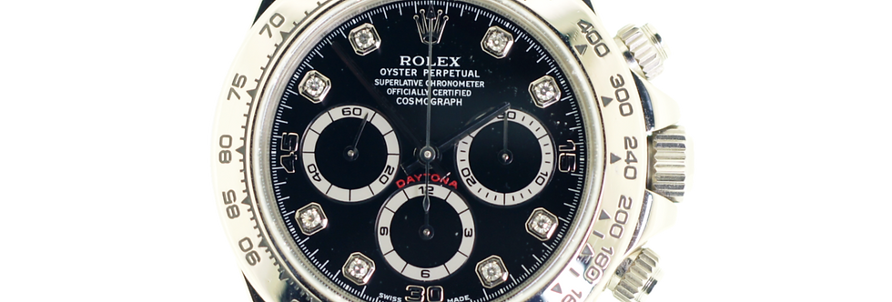 Rolex Daytona 16519 18K White Gold