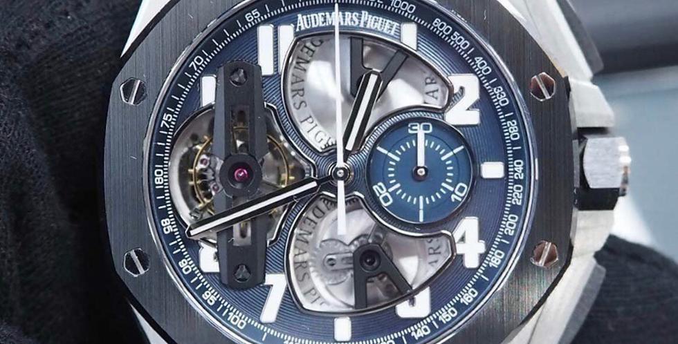 Audemars Piguet Royal Oak Offshore Tourbillon Chronograph Reference 26388PO
