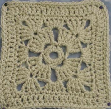 Four Petal Flower by Crochet Leaf