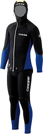 Scuba two piece wetsuit | Cressi Medas 5mm and 7mm