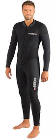 Diving one piece wetsuit | Cressi Endurance 5mm