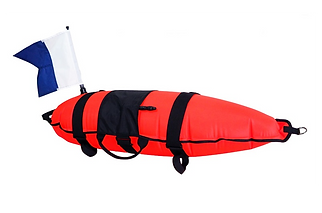 IMMERSED INFLATABLE 30L FLOAT WITH FLAG