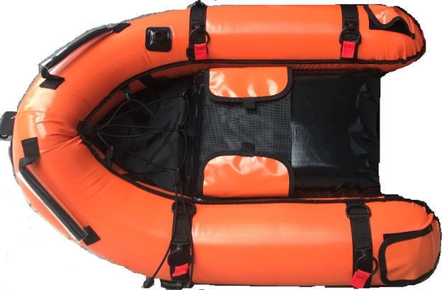 IMMERSED INFLATABLE FLOAT BOAT