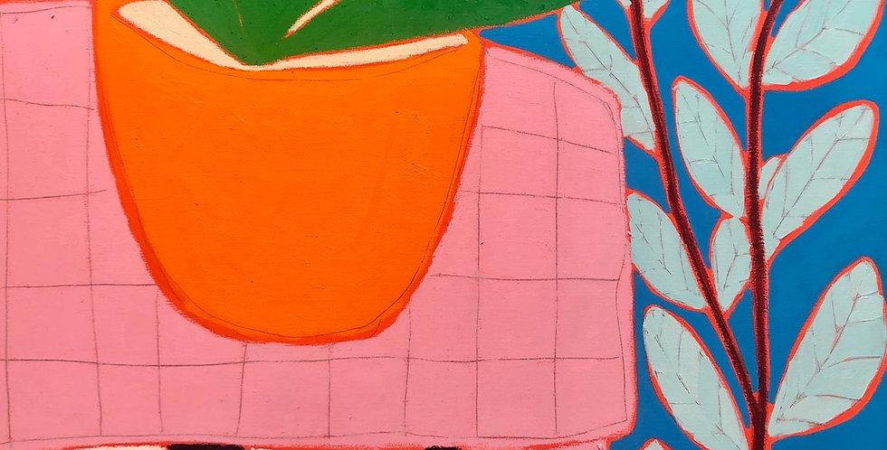 Gordon Hopkins, huile sur toile - Galerie Gabel