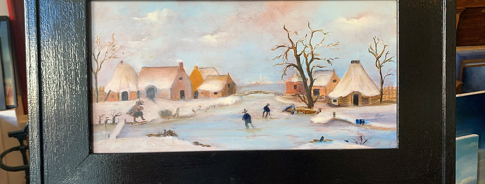 Paysage de neige - Galerie Nicole Roatta