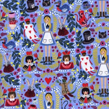 Wonderland - perwinkle