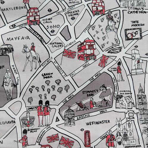 London map mask