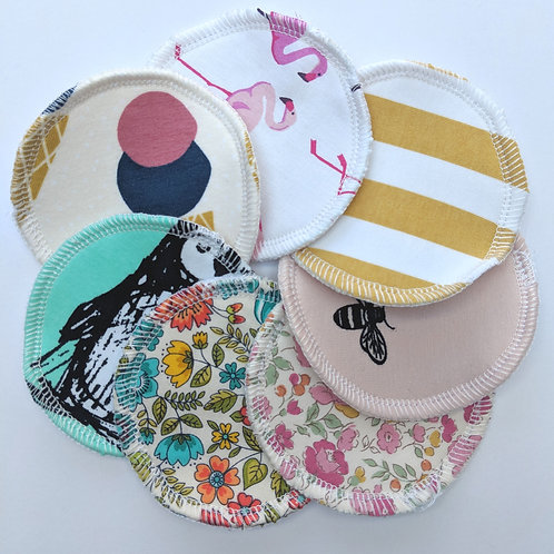 Washable breastpads - 'Surprise me'