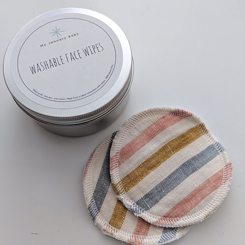 Wipes in a tin!