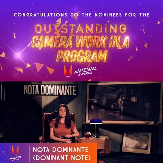 #NotaDominante nominado por mejor trabaj