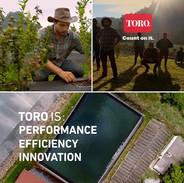 Some stills of Toro's advertising . #to