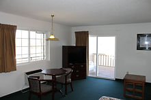 king rooms with a private balcony overlooking lake george at the sundowner motel in lake george, new york