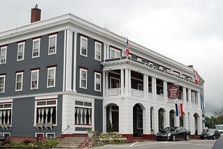 The Herbert Grand Hotel is located on Route 27 in Kingfield, Maine near Sugarloaf Mountain and Maine Huts and Trails