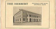Postcard of the Herbert Grand Hotel, Kingfield, Maine circa 1920