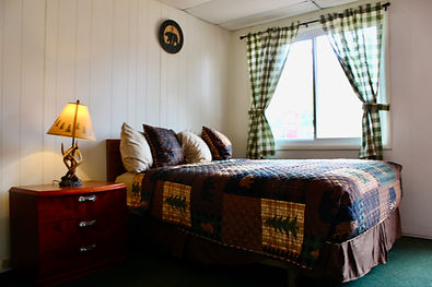 standard queen hotel room at the lake george motel montreal in lake george ny