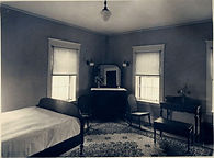 Circa 1920 Guest room at the Herbert Grand Hotel, Kingfield Maine
