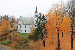 view of the fall foliage and maine leaf peeping at the herbert hotel in kingfield maine