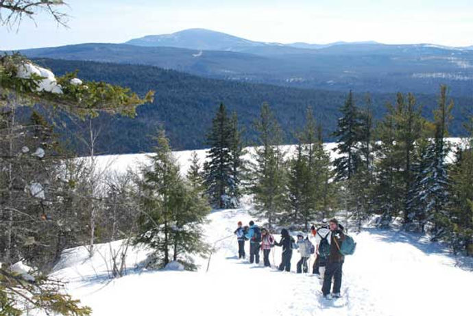 The Herbert Grand Hotel is near sugarloaf outdoor center and maine huts and trails snowshoeing and cross country skiing trails