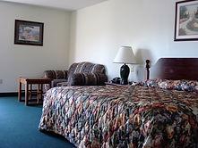 large spacious king lakeside room at the sundowner motel in lake george new york