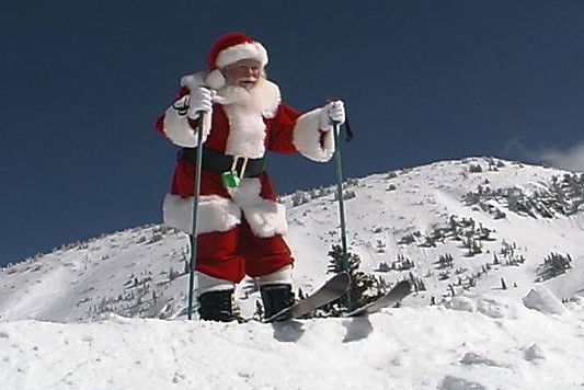 Sugarloaf Mountain ski resort is so amazing that Santa spends christmas week skiing and riding the loaf.