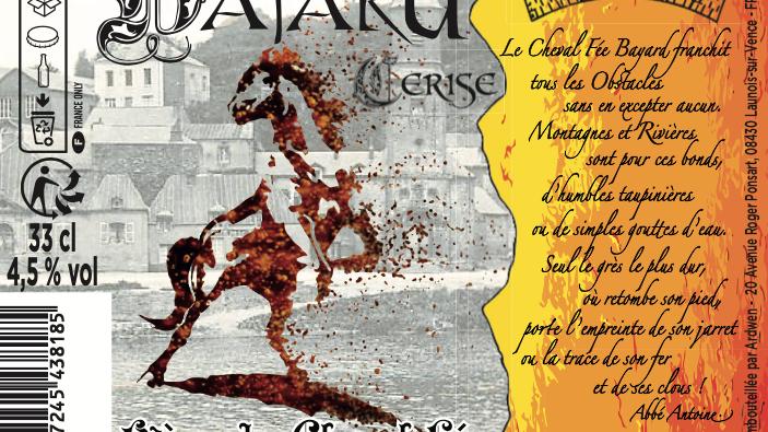 Carton 24 Bayard Cerise 33cl