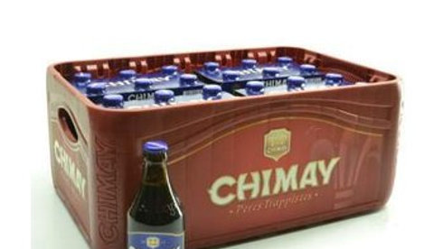 Casier 24 Chimay bleu 33cl