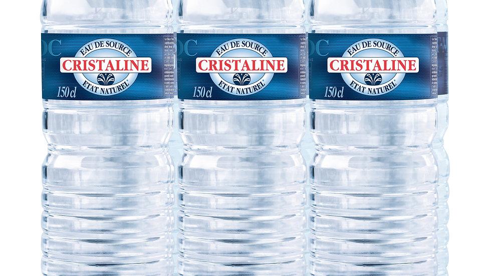 Pack Cristaline 6x1,50L