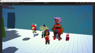 Knot Me! 3D Characters