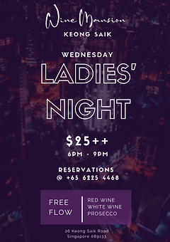 Purple Busy City Ladies Night Poster.png