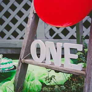 Ethan's Cake 1st Cake Smash