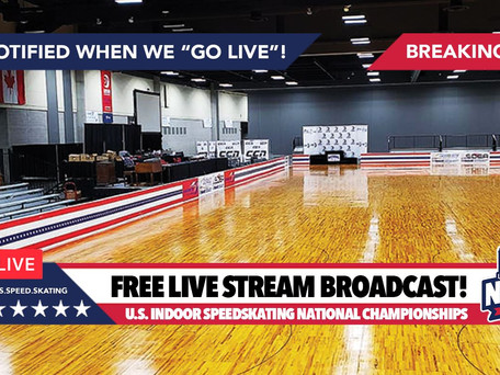 In case you missed it... 2019 USA Indoor Nationals Speed Skating