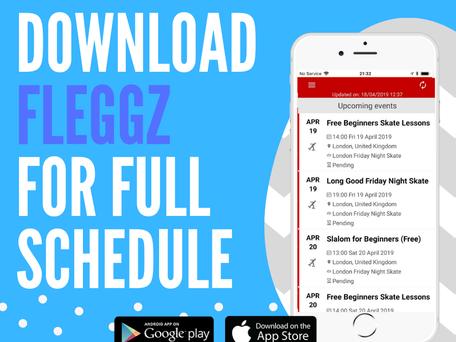 All London Friday Night Skate Events in One Place: FLEGGZ app