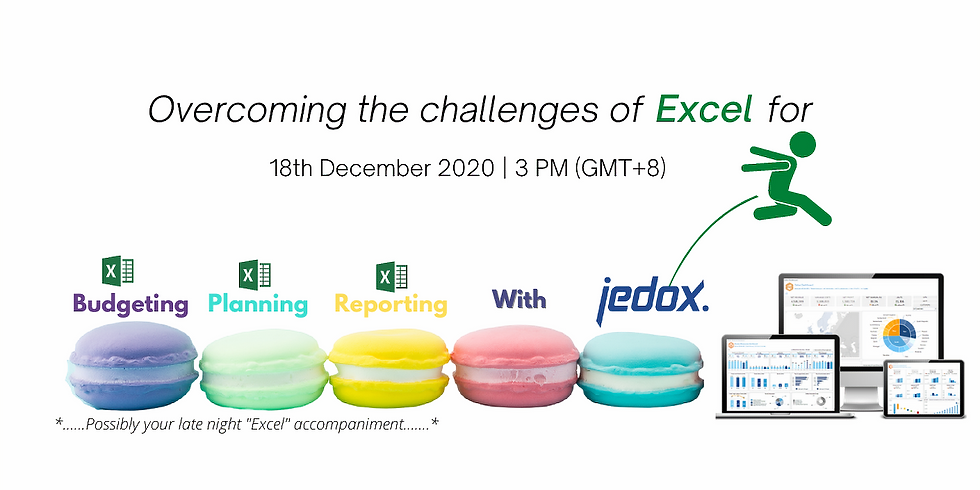 Overcoming the Challenges of Using Excel for Budgeting , Planning and Reporting
